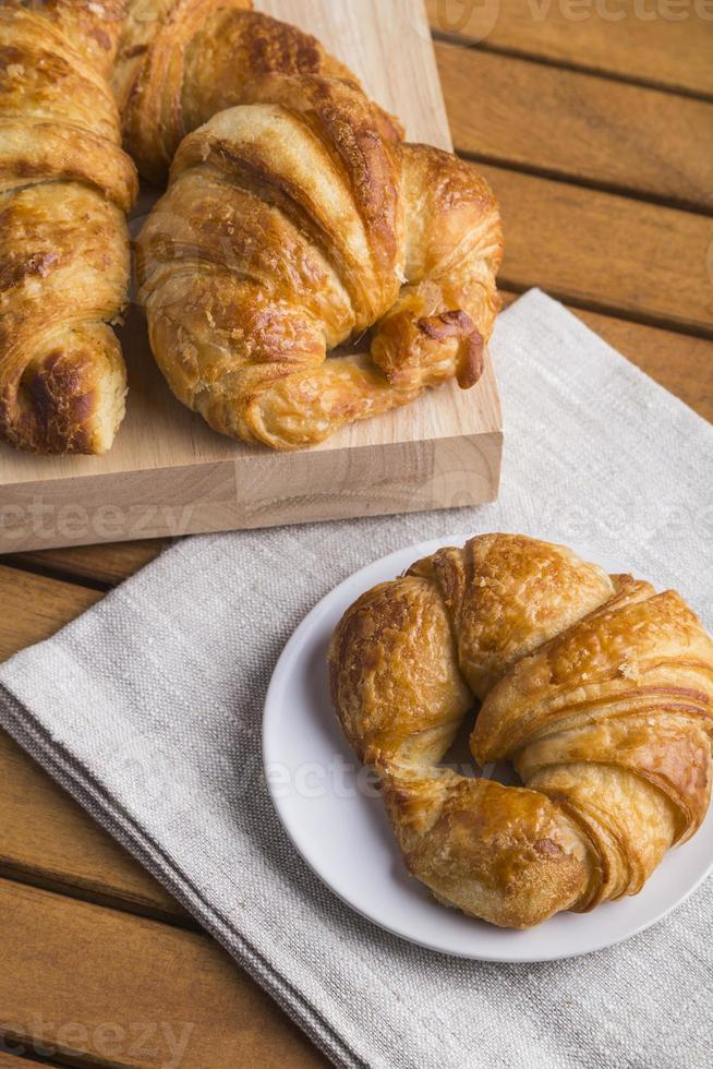 Croissants photo