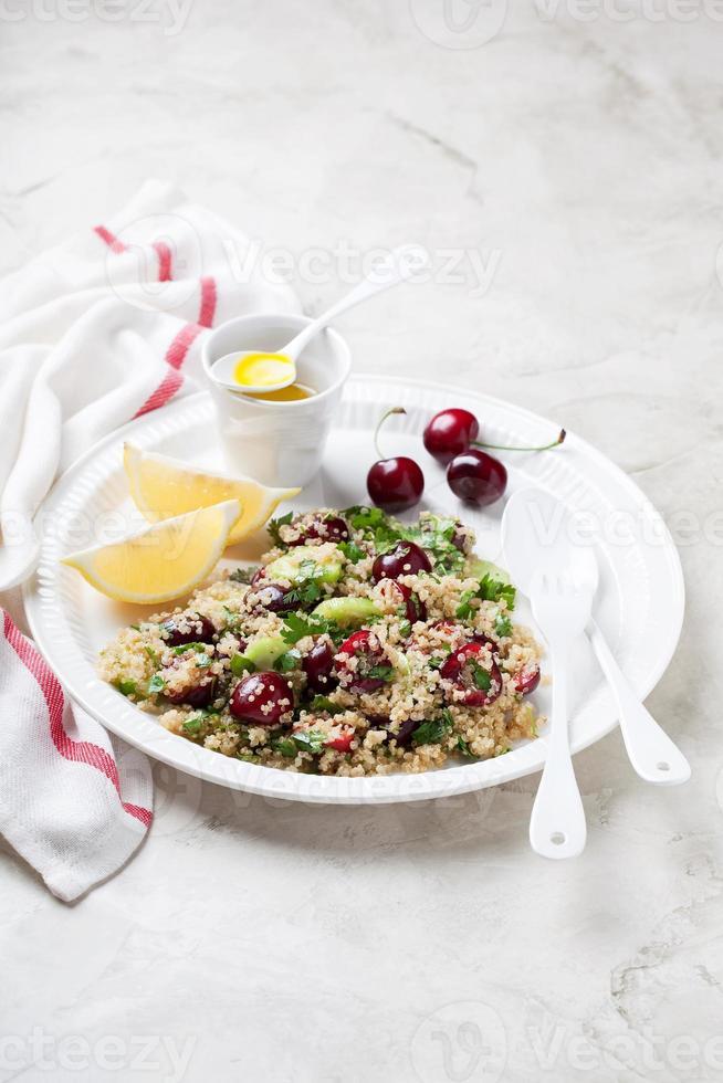 Quinoa salad photo