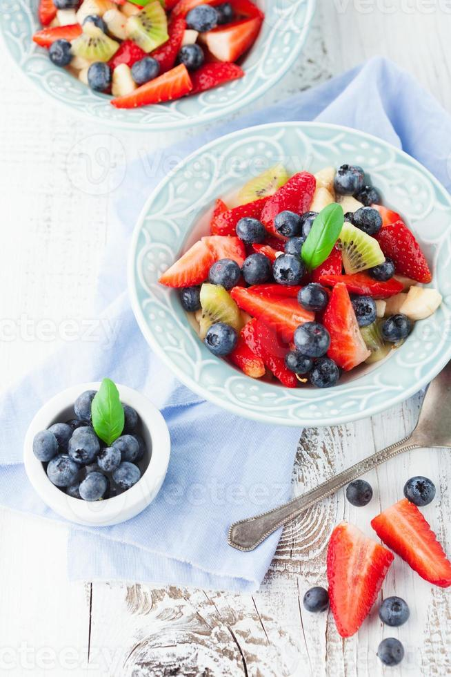 Fresh fruit salad photo
