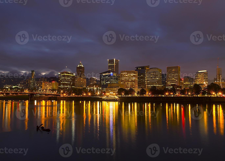 Portland at Night photo