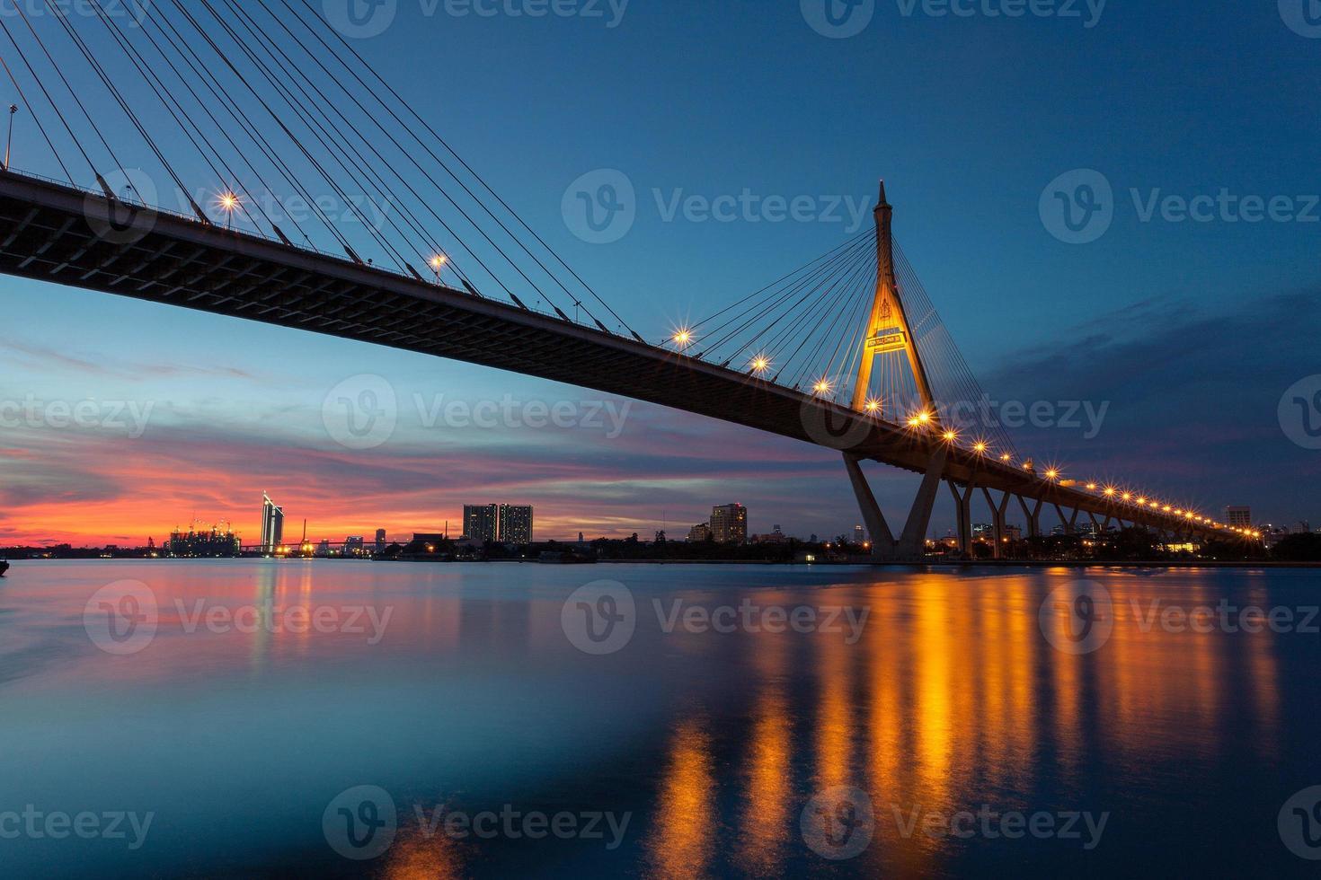 BANGKOK NIGHT LIGHT photo