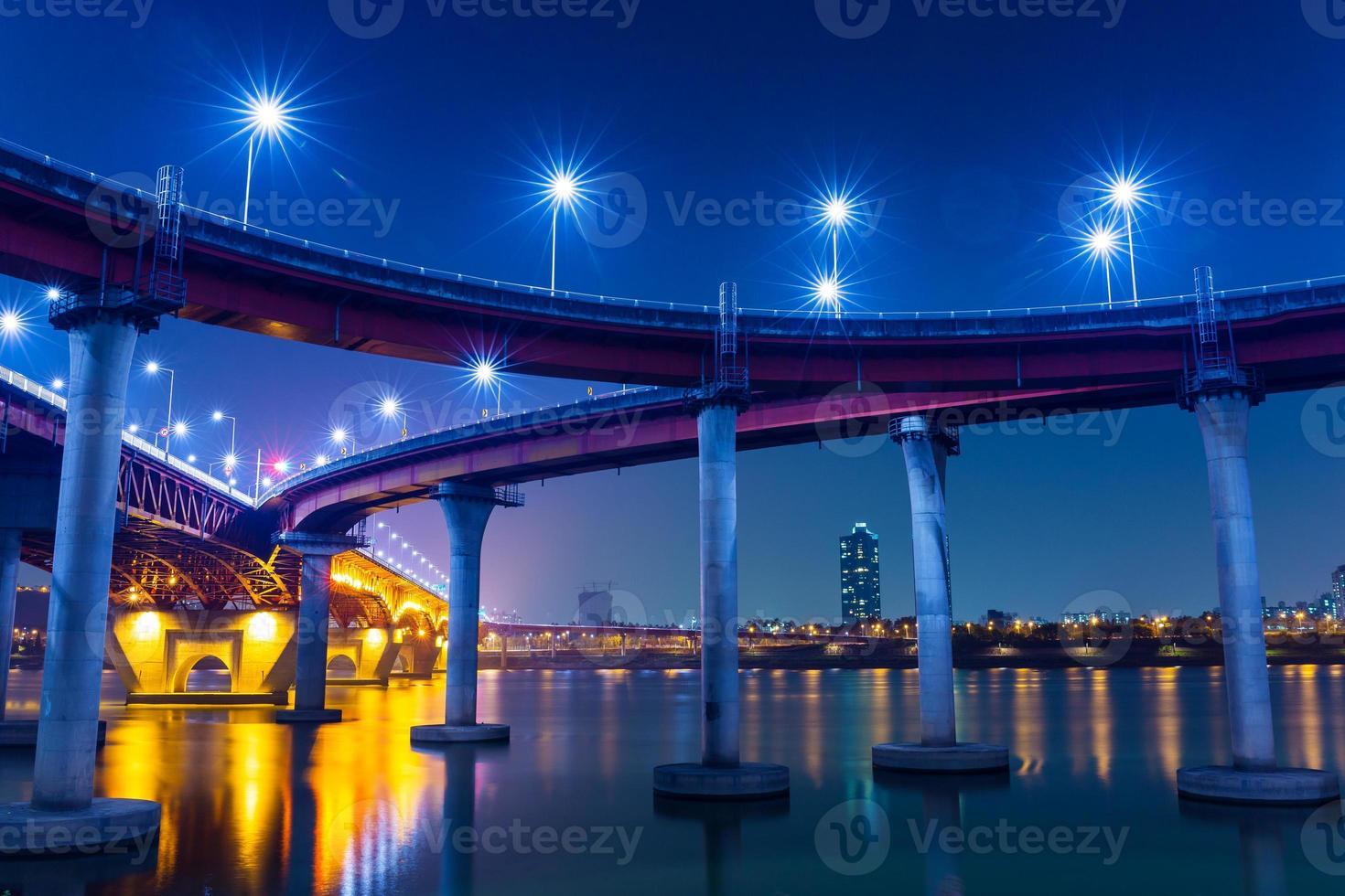 Freeway in Seoul photo