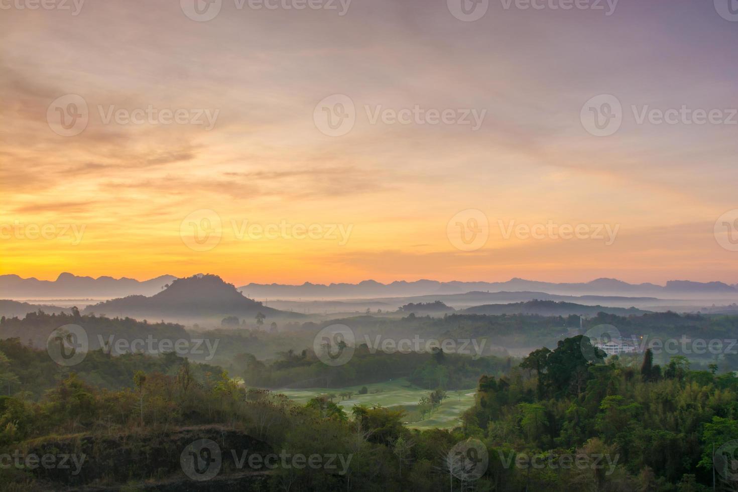 paisaje de montaña foto