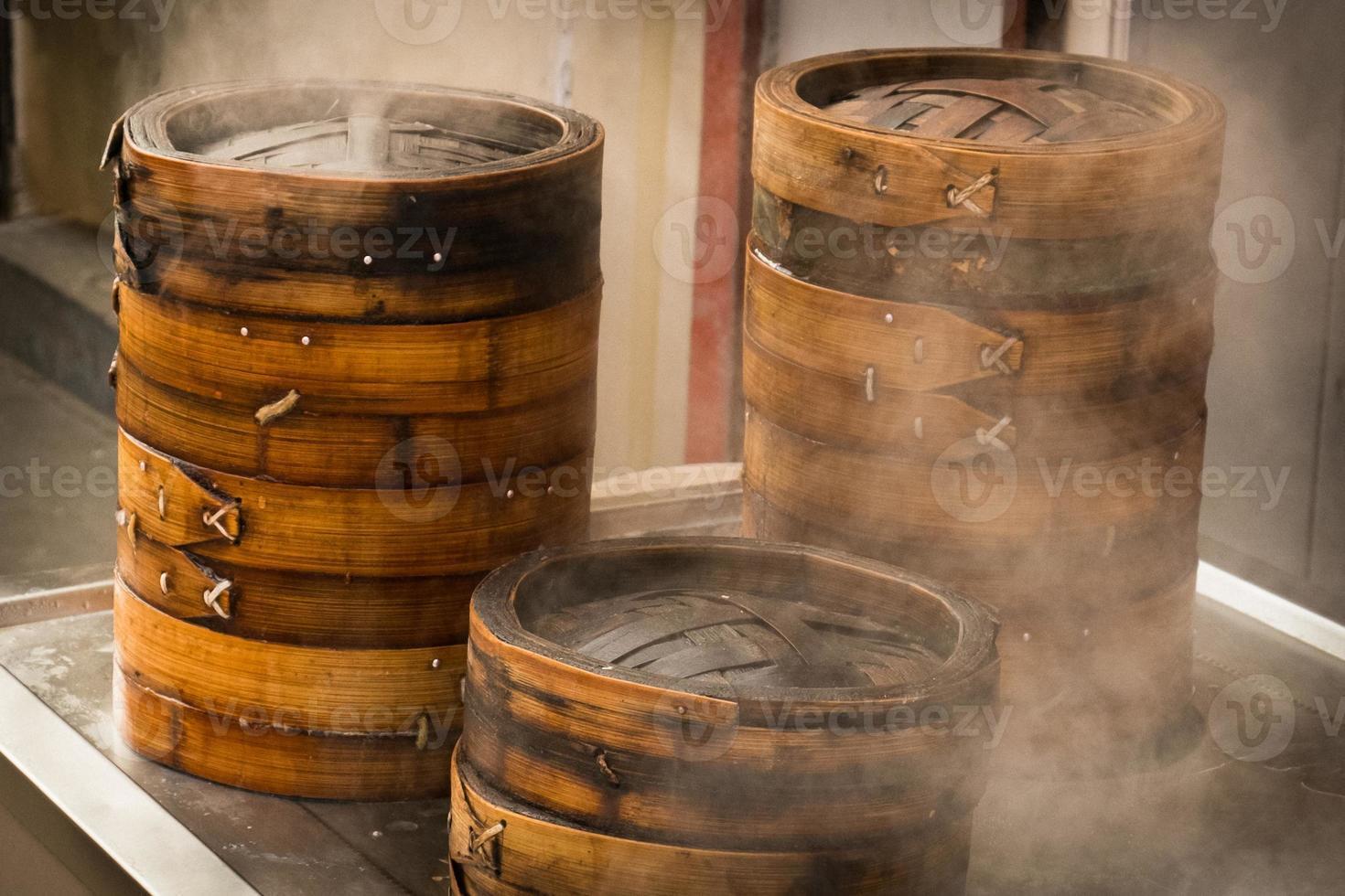 vapores de bambú foto