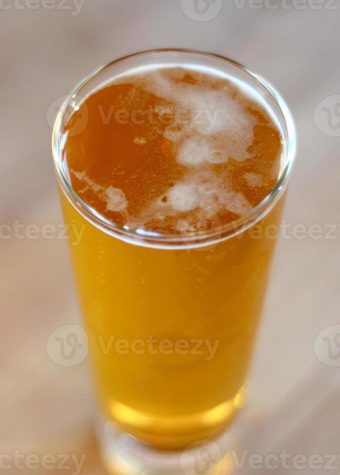 vaso de cerveza foto