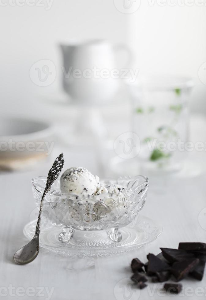stracciatella icecream photo