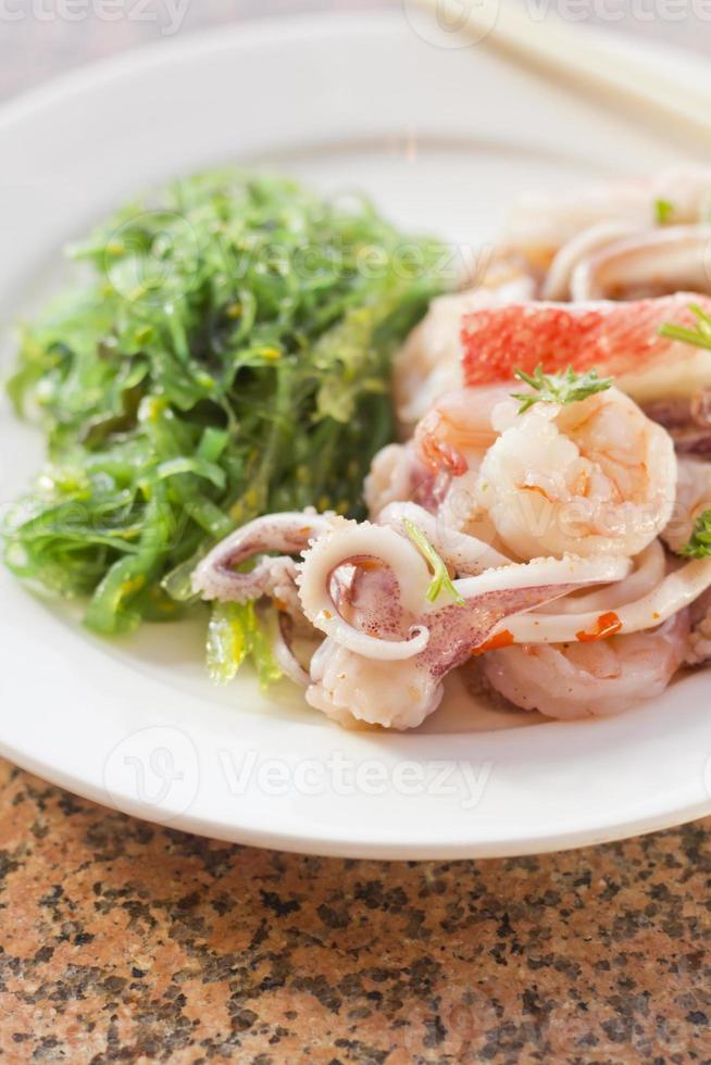 Seafood Seaweed Salad photo