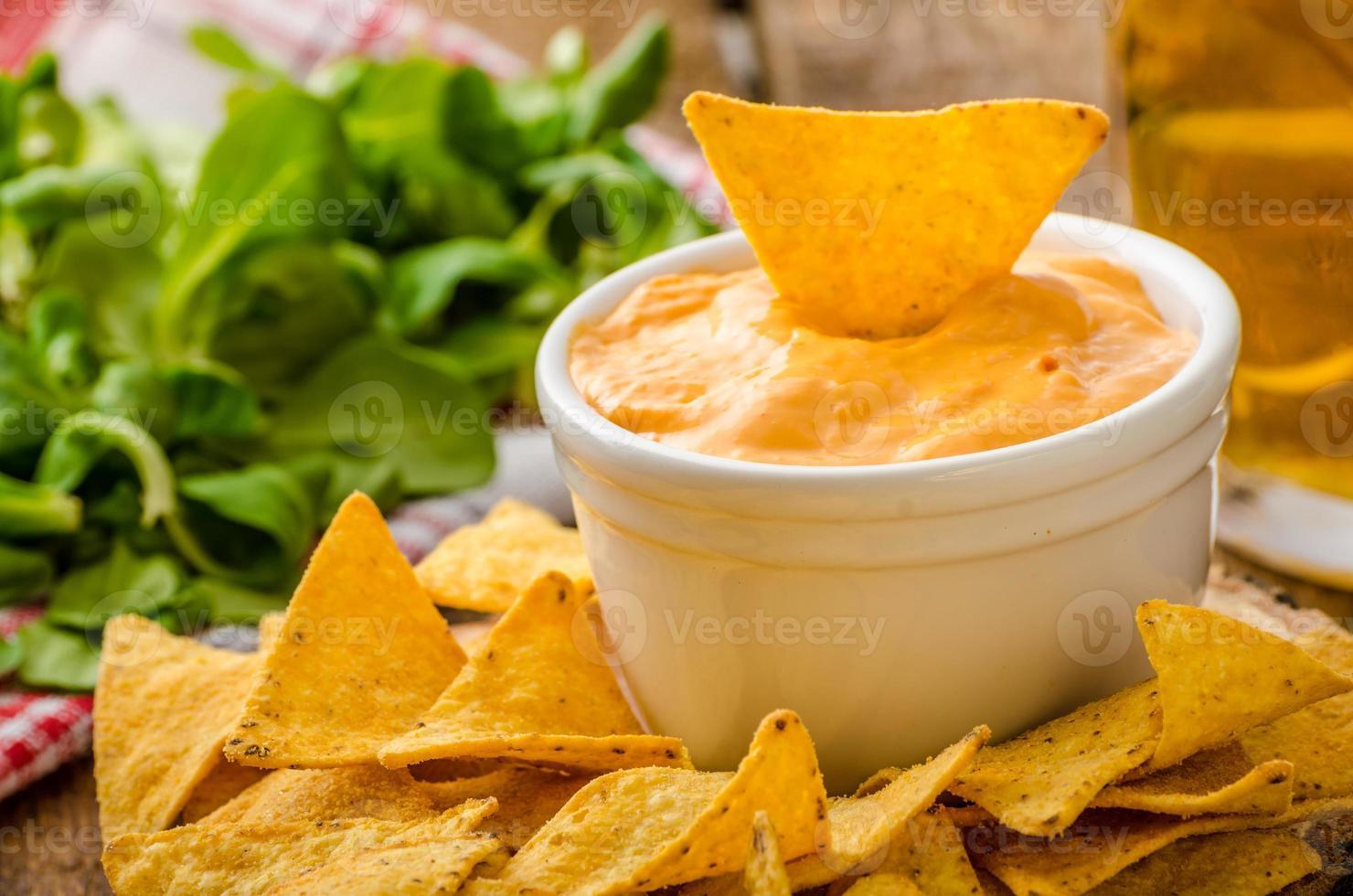 chips de tortilla foto
