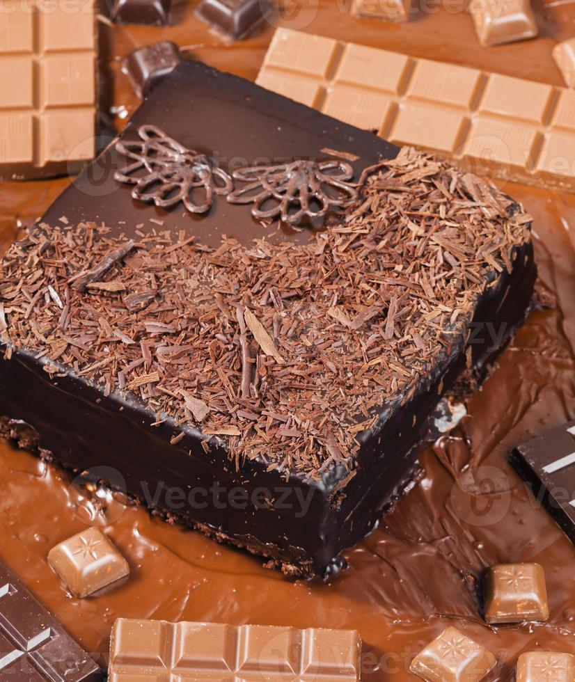 bodegón de chocolate foto