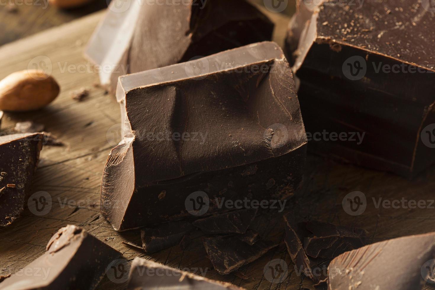 Organic Dark Chocolate Chunks photo