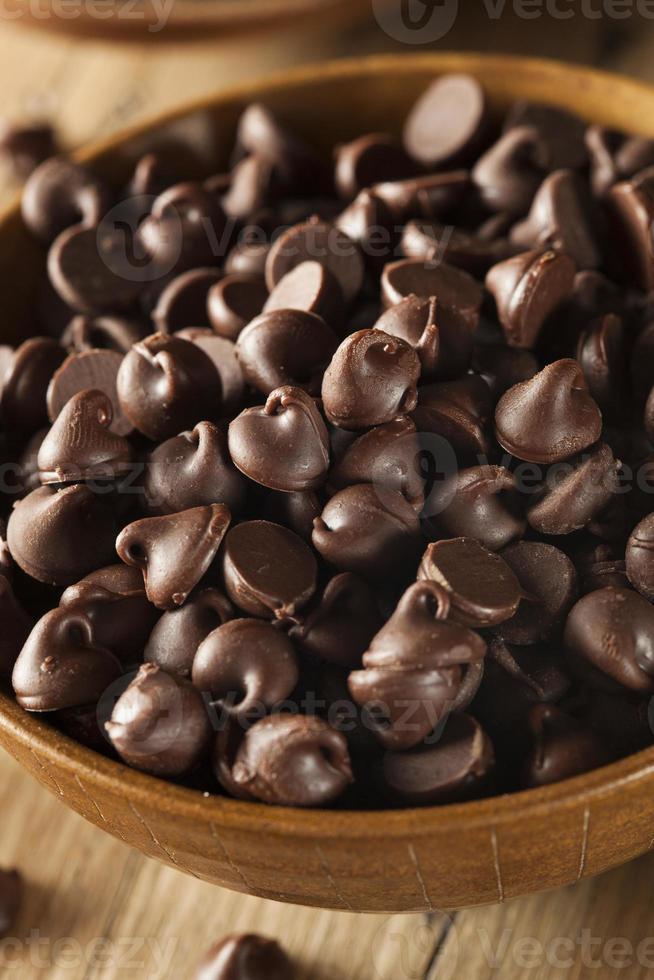 Organic Dark Chocolate Chips photo