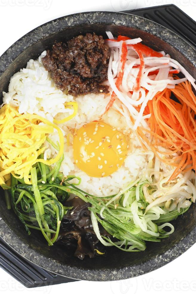 bibimbap Korean food photo