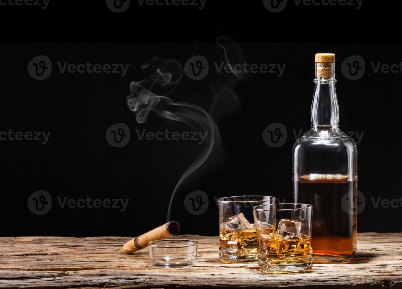 bebidas de whisky foto