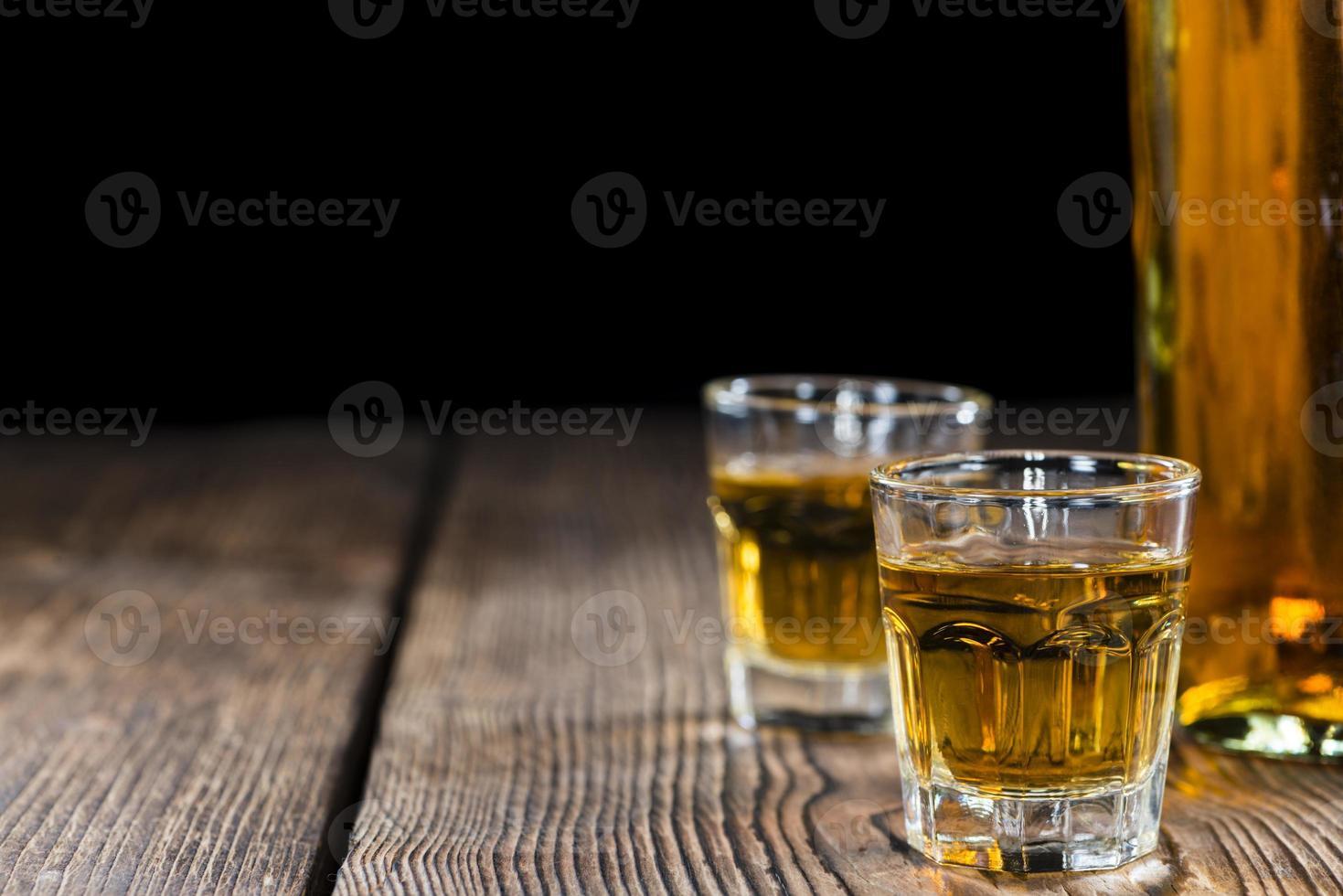 tiro de whisky foto