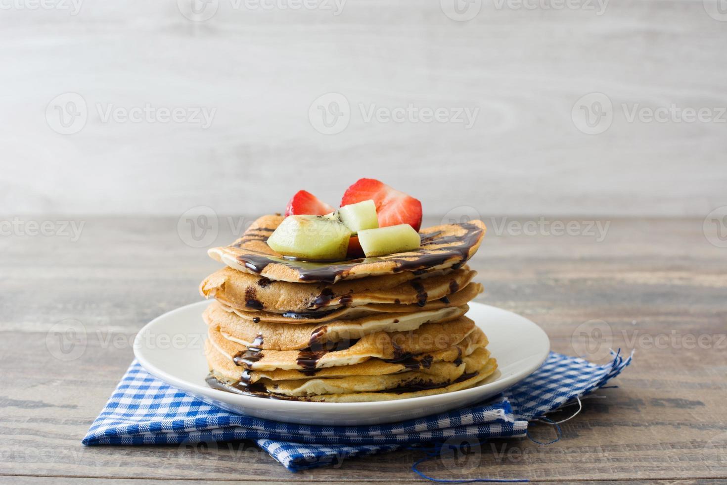 American pancakes photo