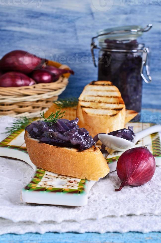The onion confit photo
