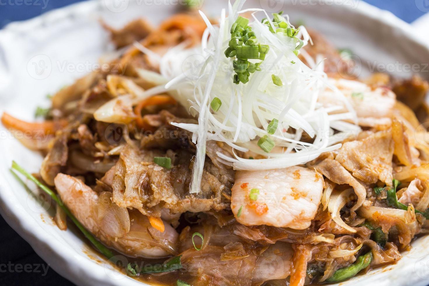 Buta Kimchi Food photo