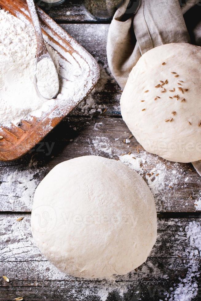 cocinando pan foto