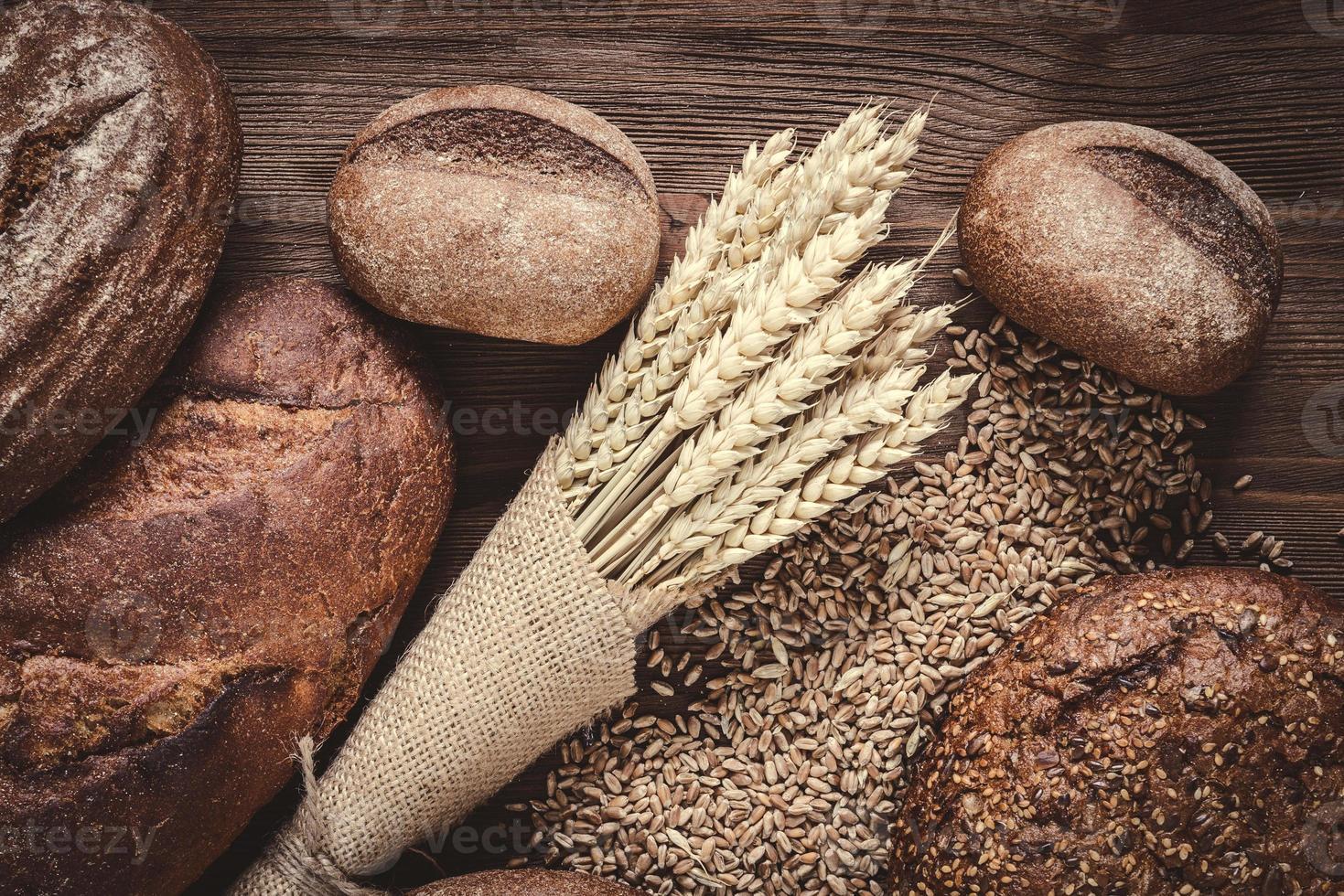 pães e centeio foto