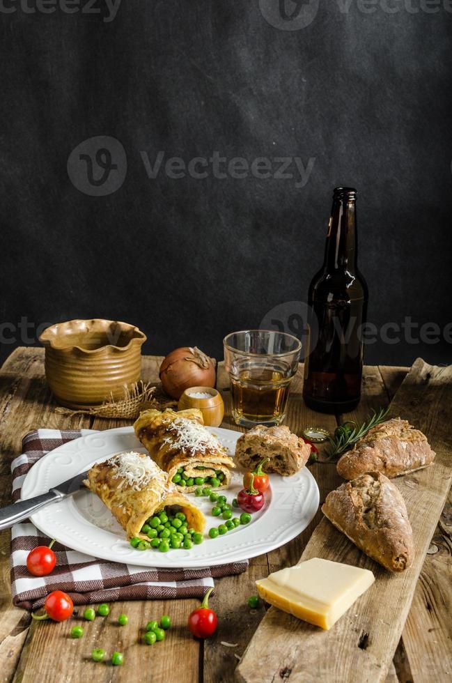 desayuno completo con proteínas foto