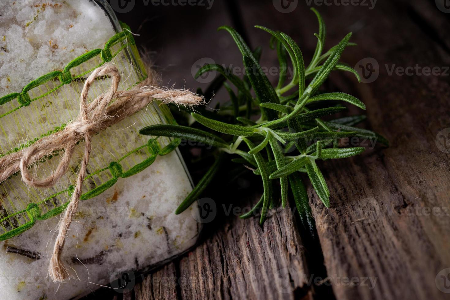 Natural diy crystal bath salt photo