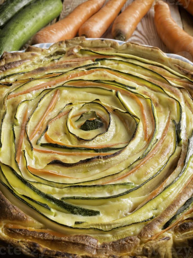 Savoury pie photo