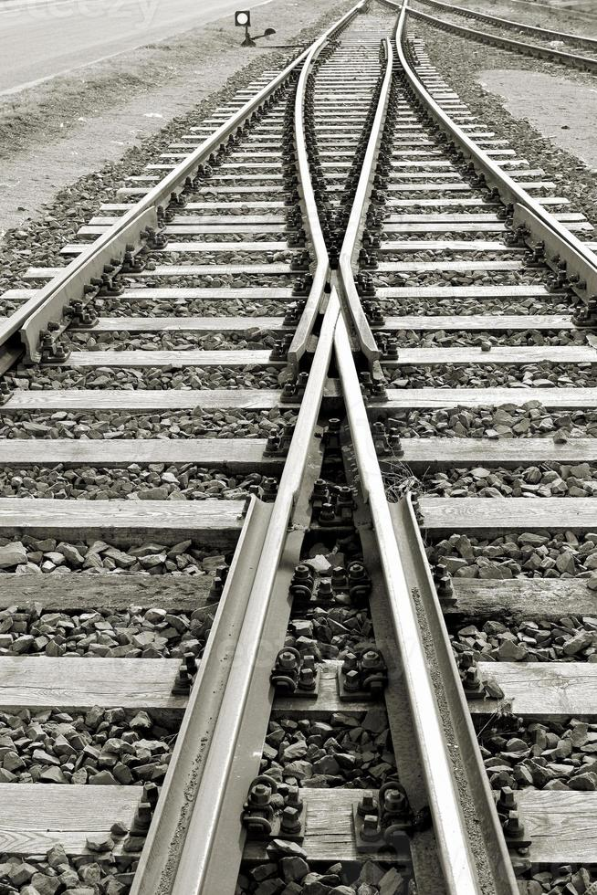 vías del tren foto
