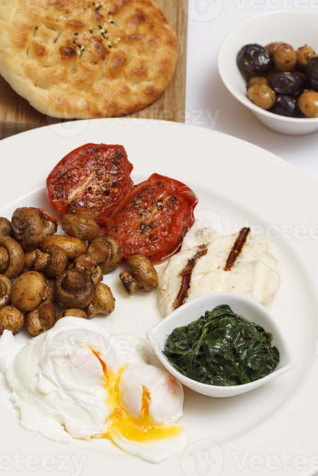 gran desayuno turco foto