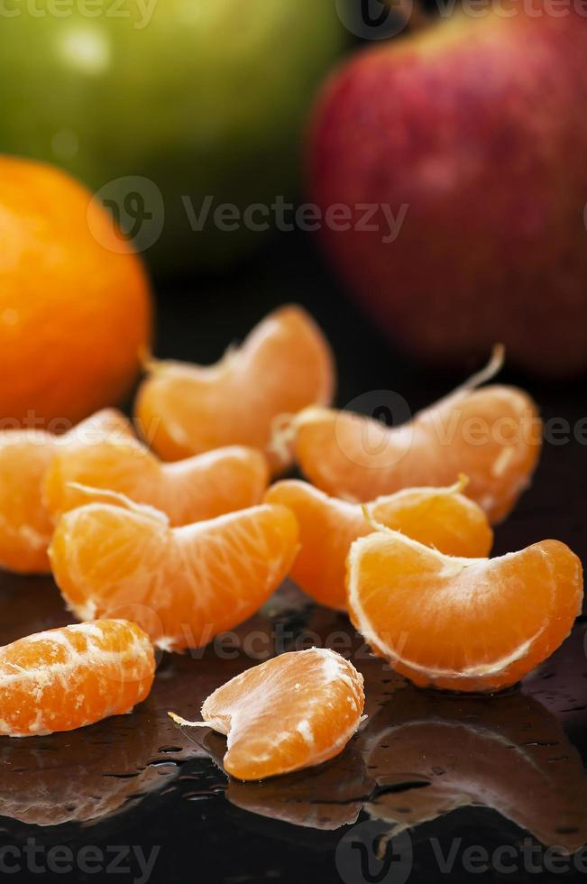 plato de frutas foto