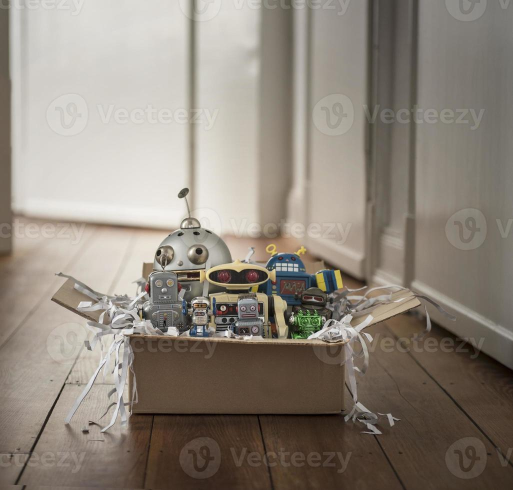 package with Robots photo