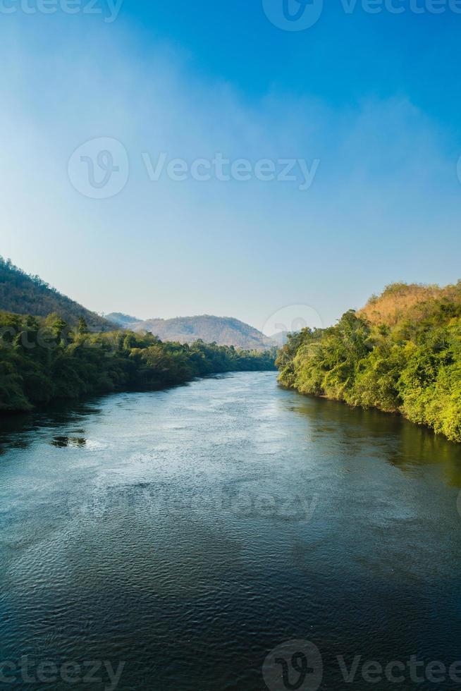 Nature and river photo