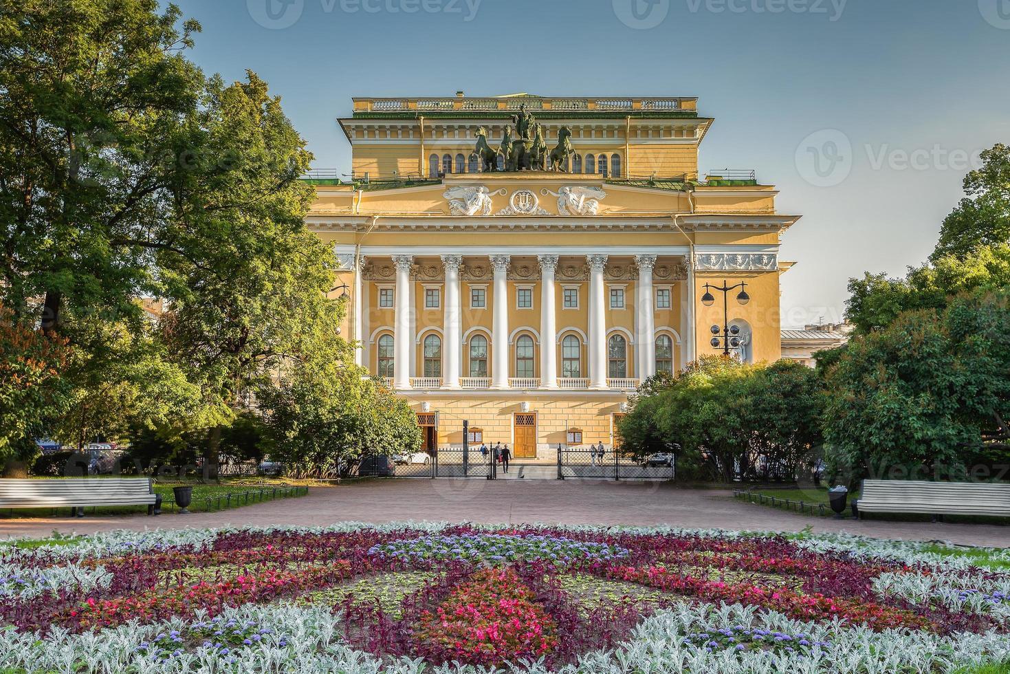 Teatro Alexandrinsky en San Petersburgo foto
