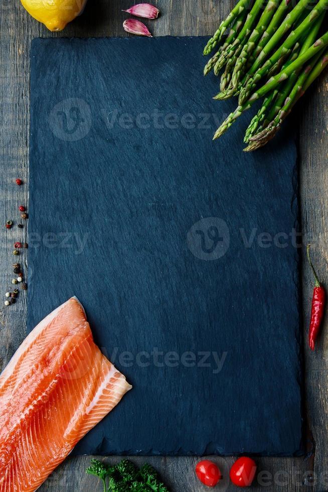 salmón foto