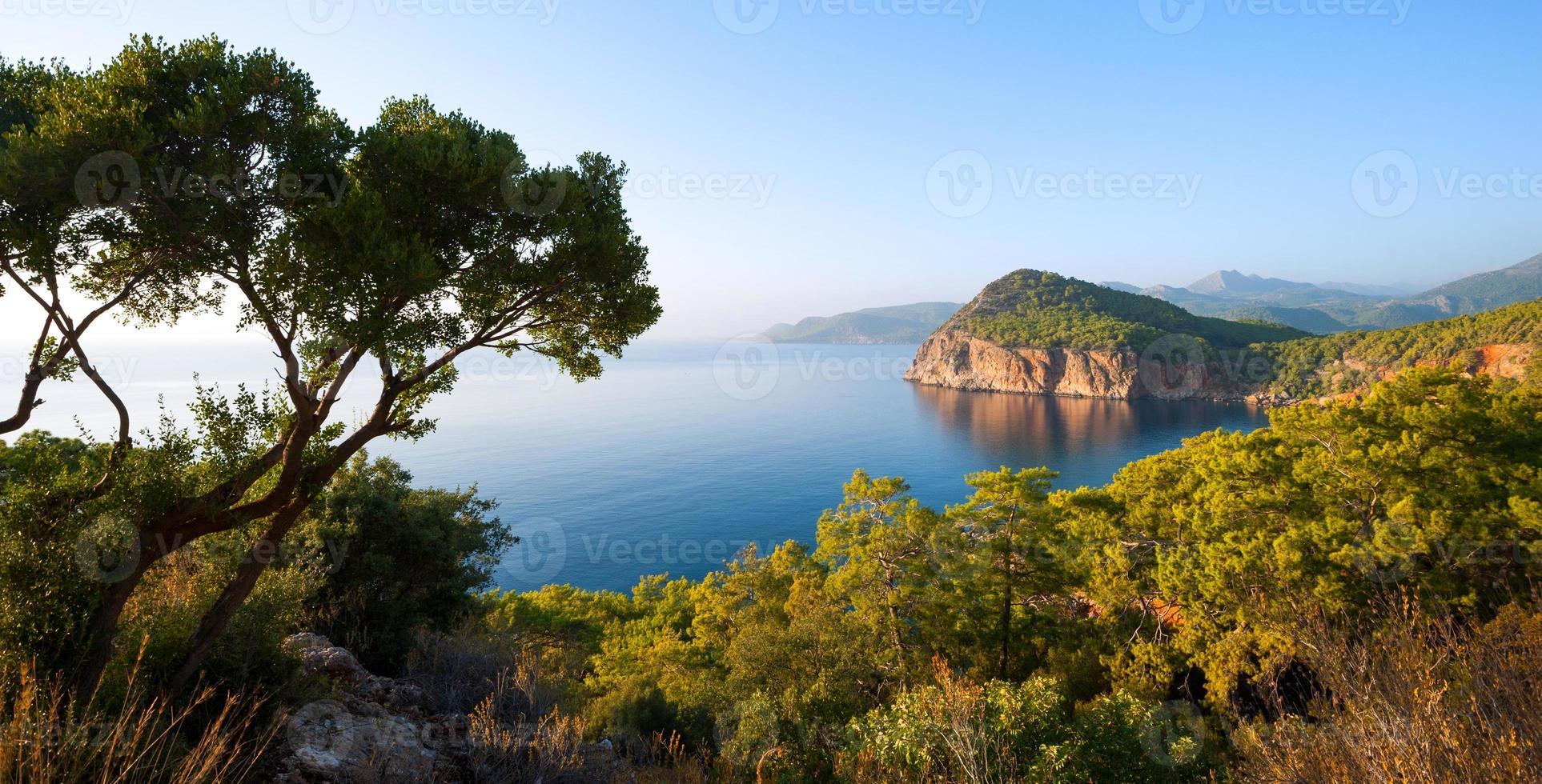 montañas mediterráneas foto