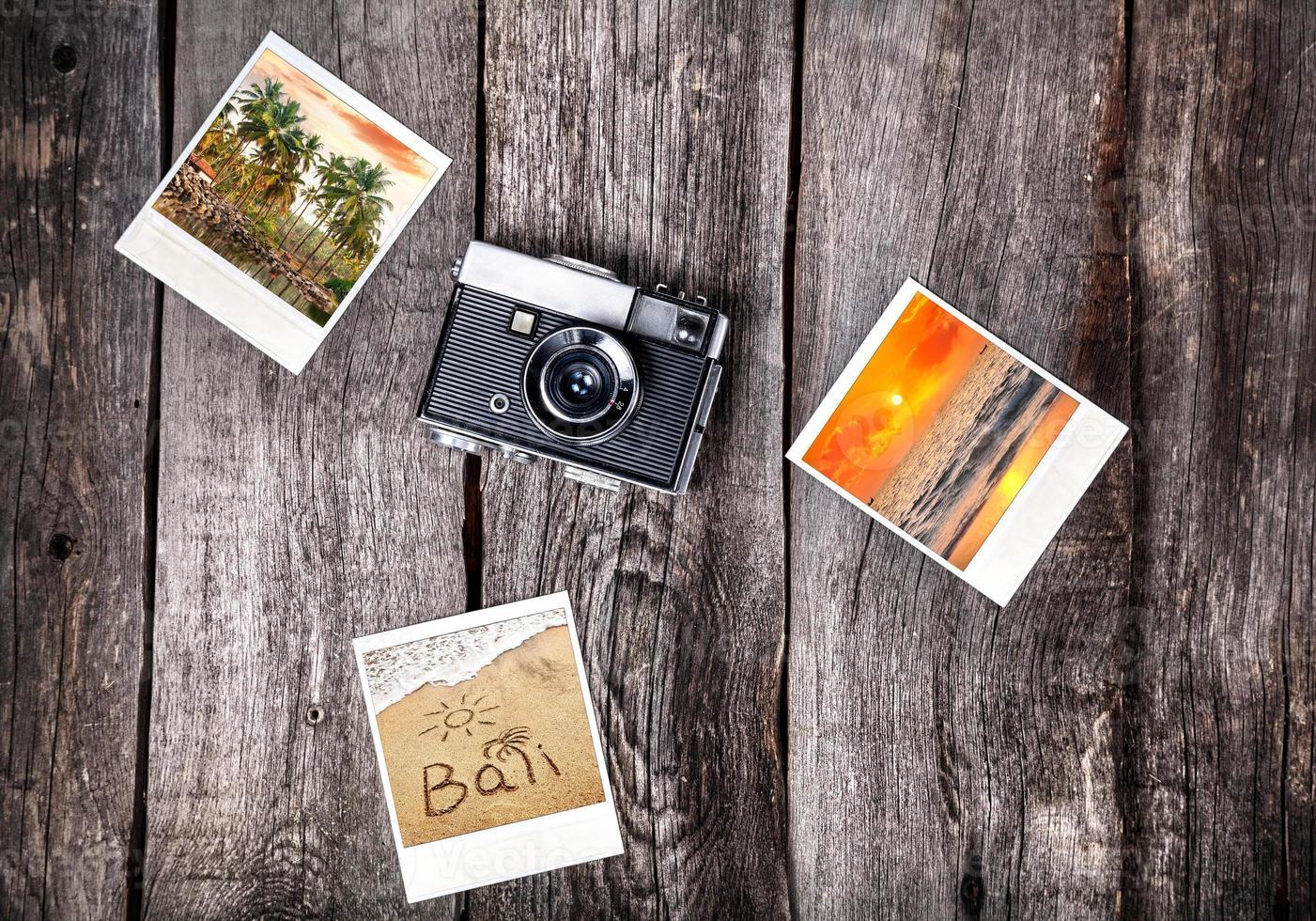 câmera e fotos de bali