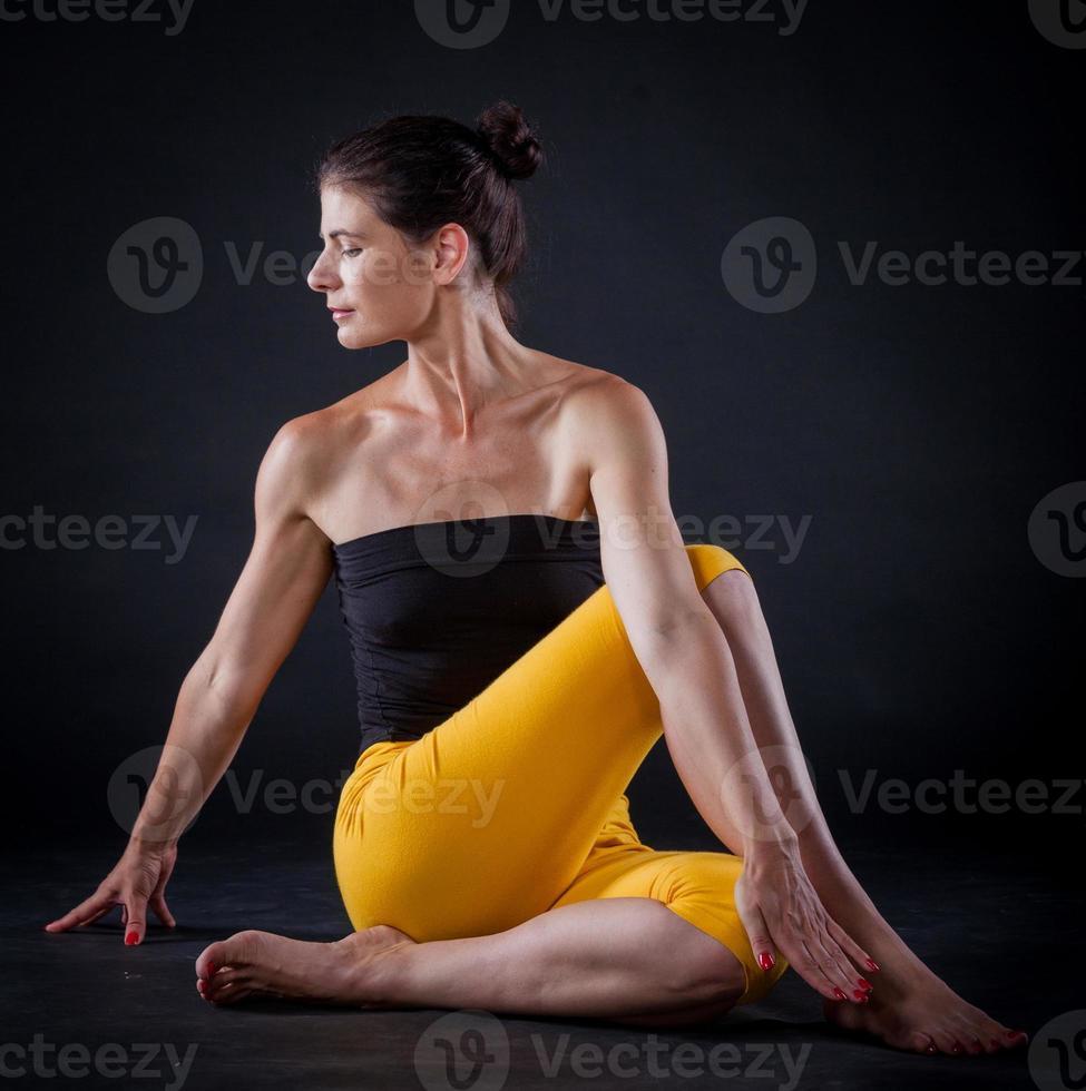 Yoga woman photo