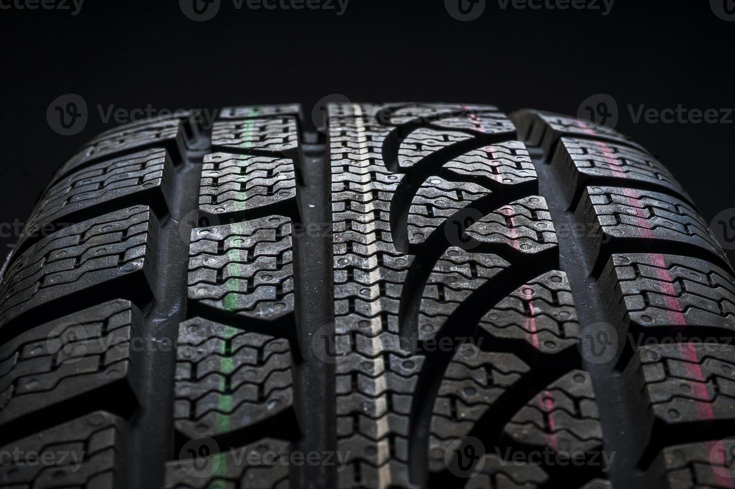 neumáticos de invierno foto