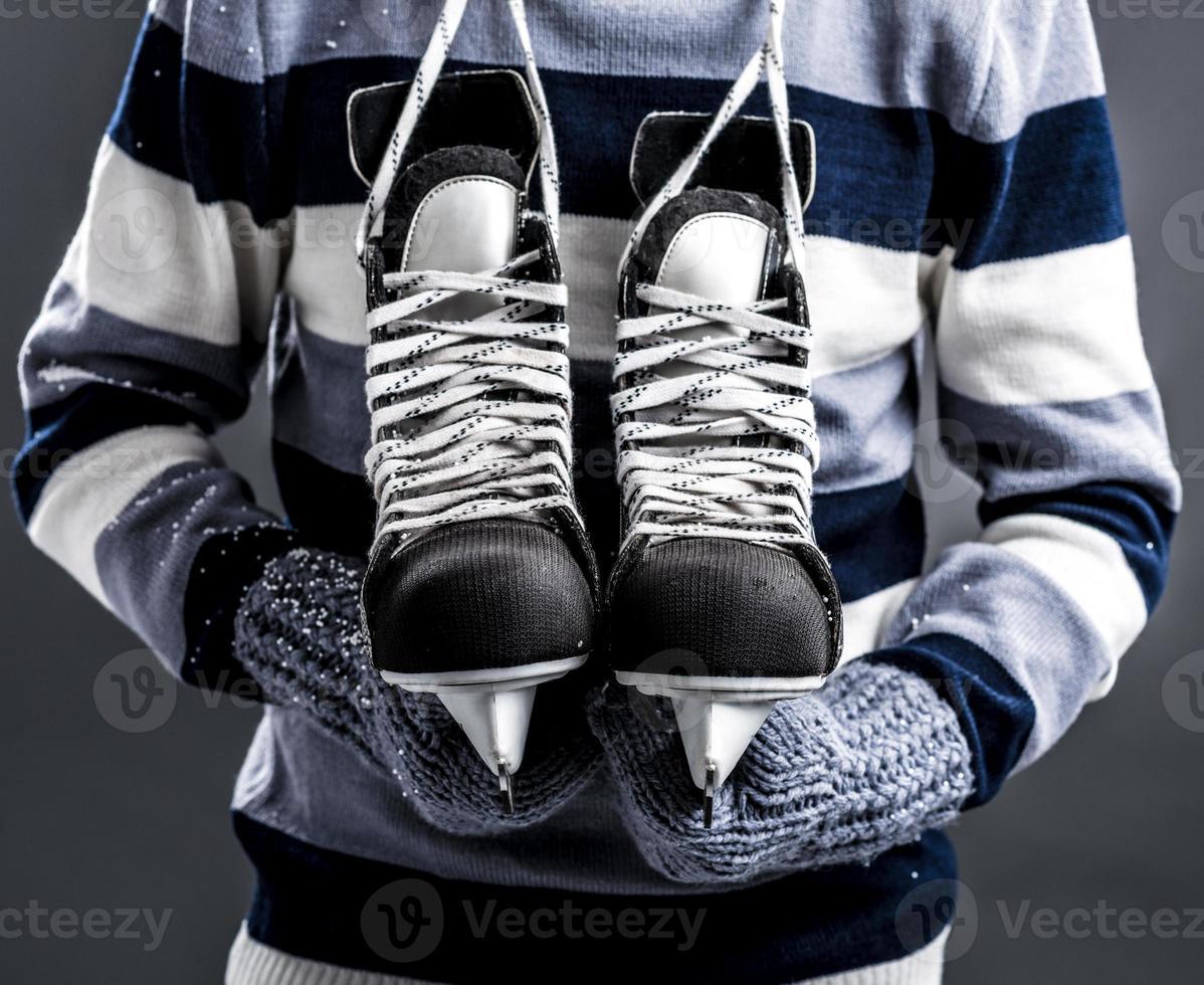 amante del hockey foto
