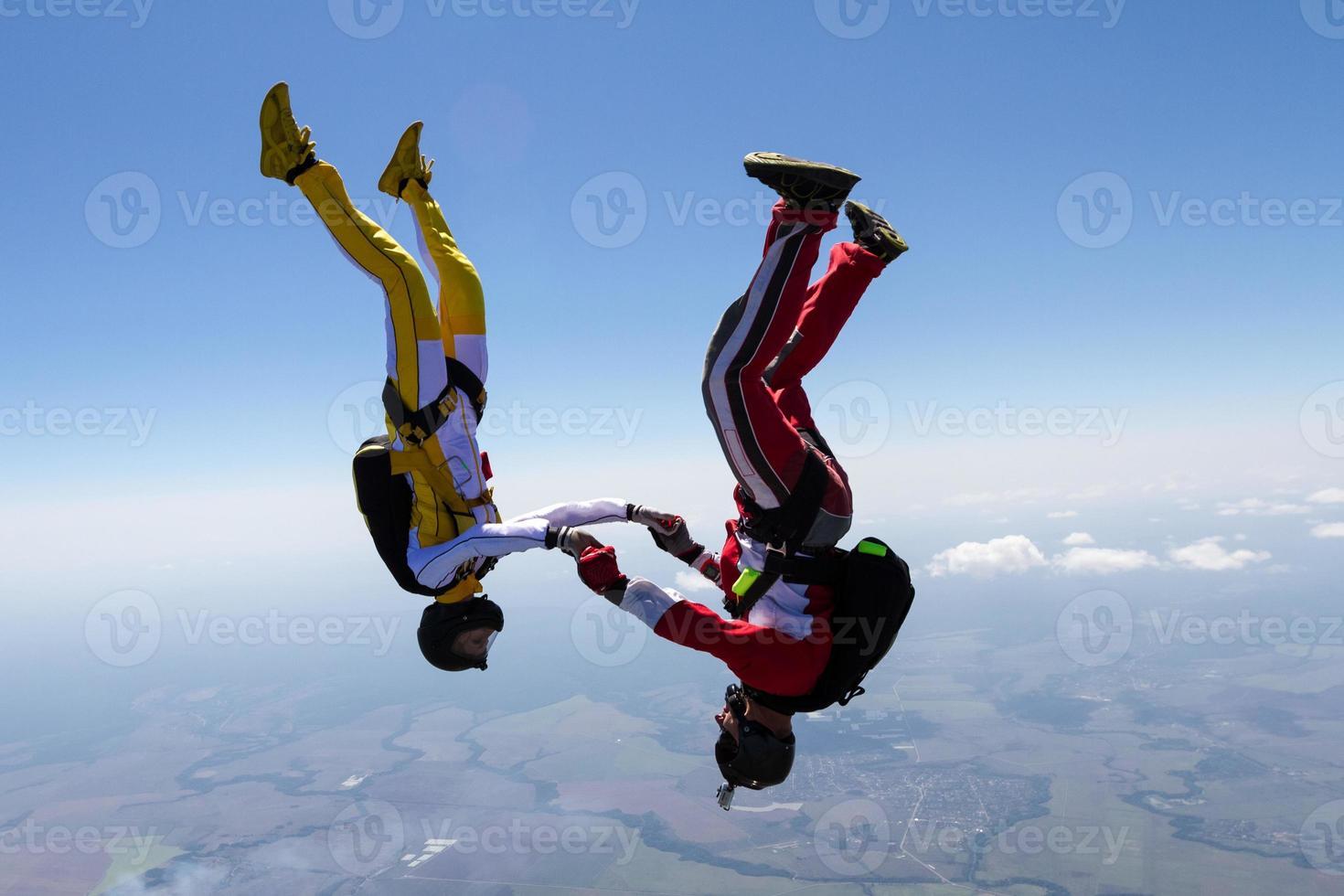 Skydiving photo. photo