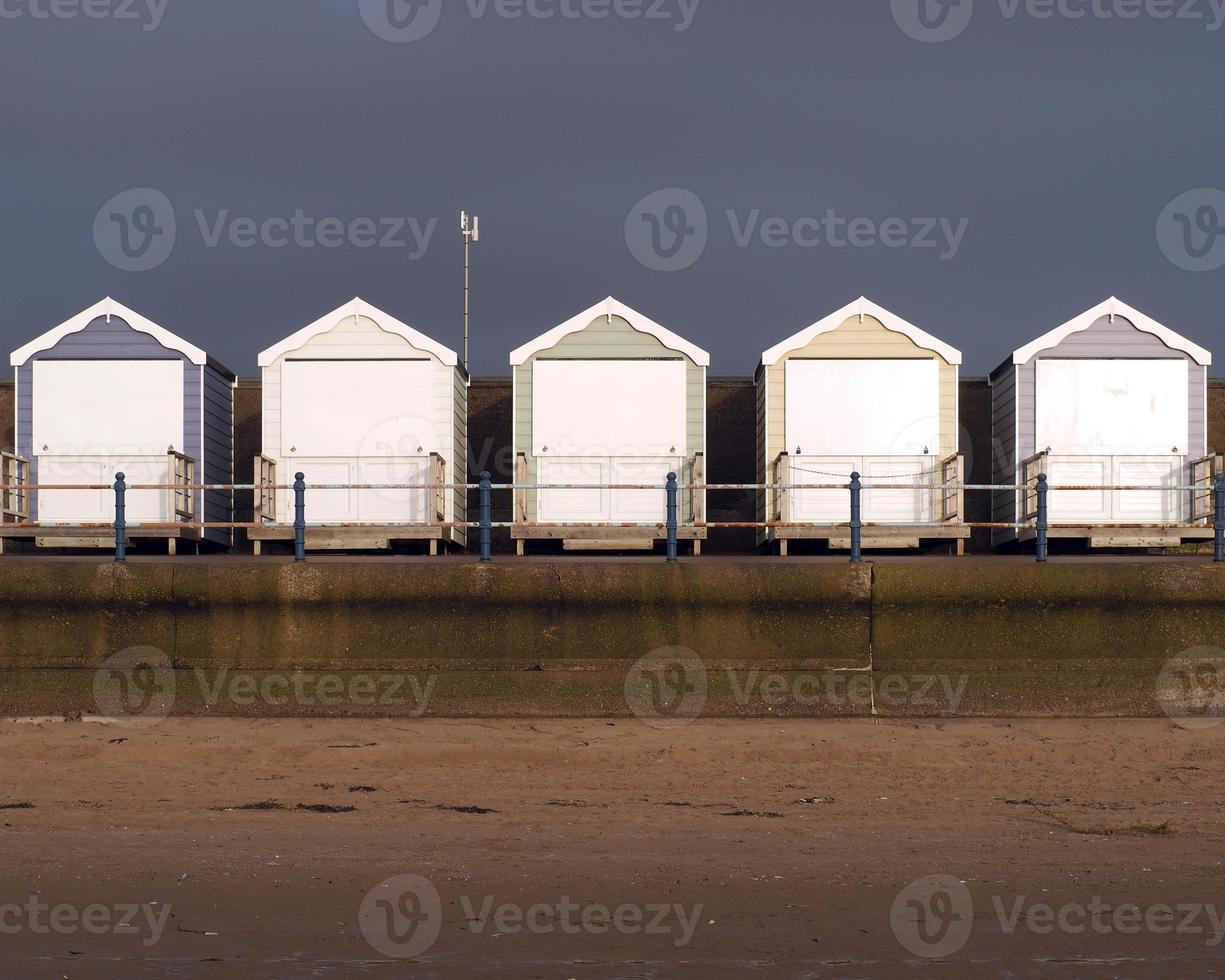 cabañas de playa foto