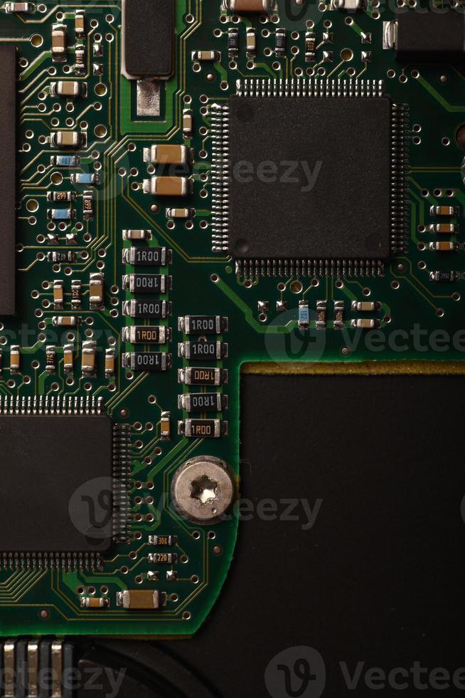 micro circuito electrónico foto