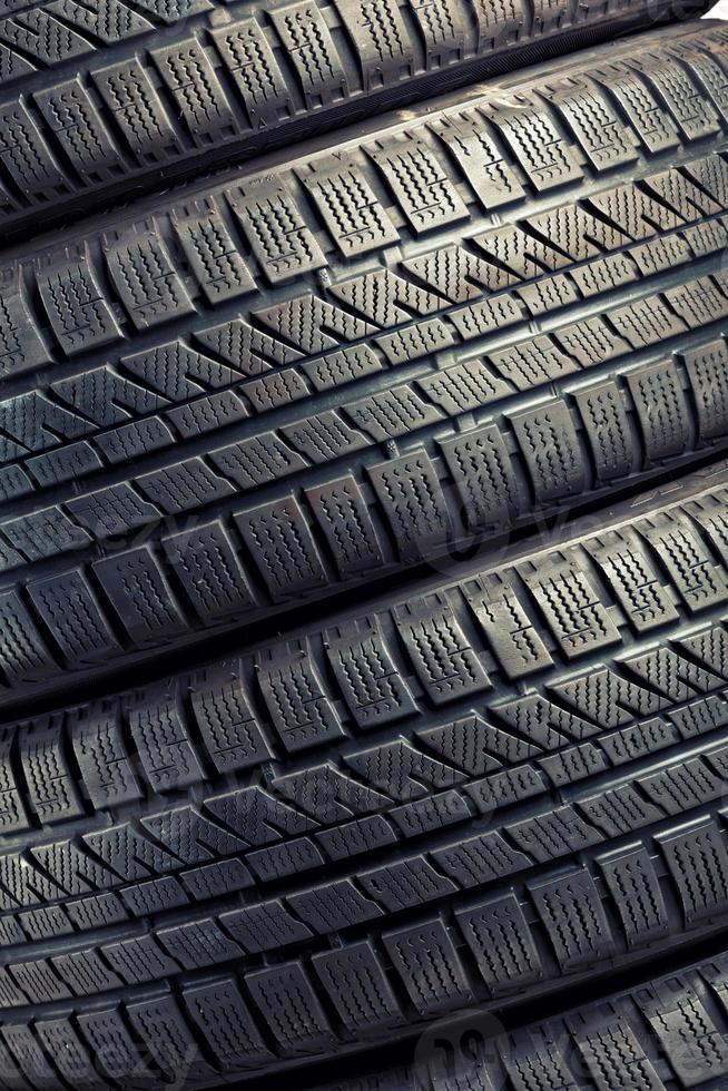 neumático de invierno foto