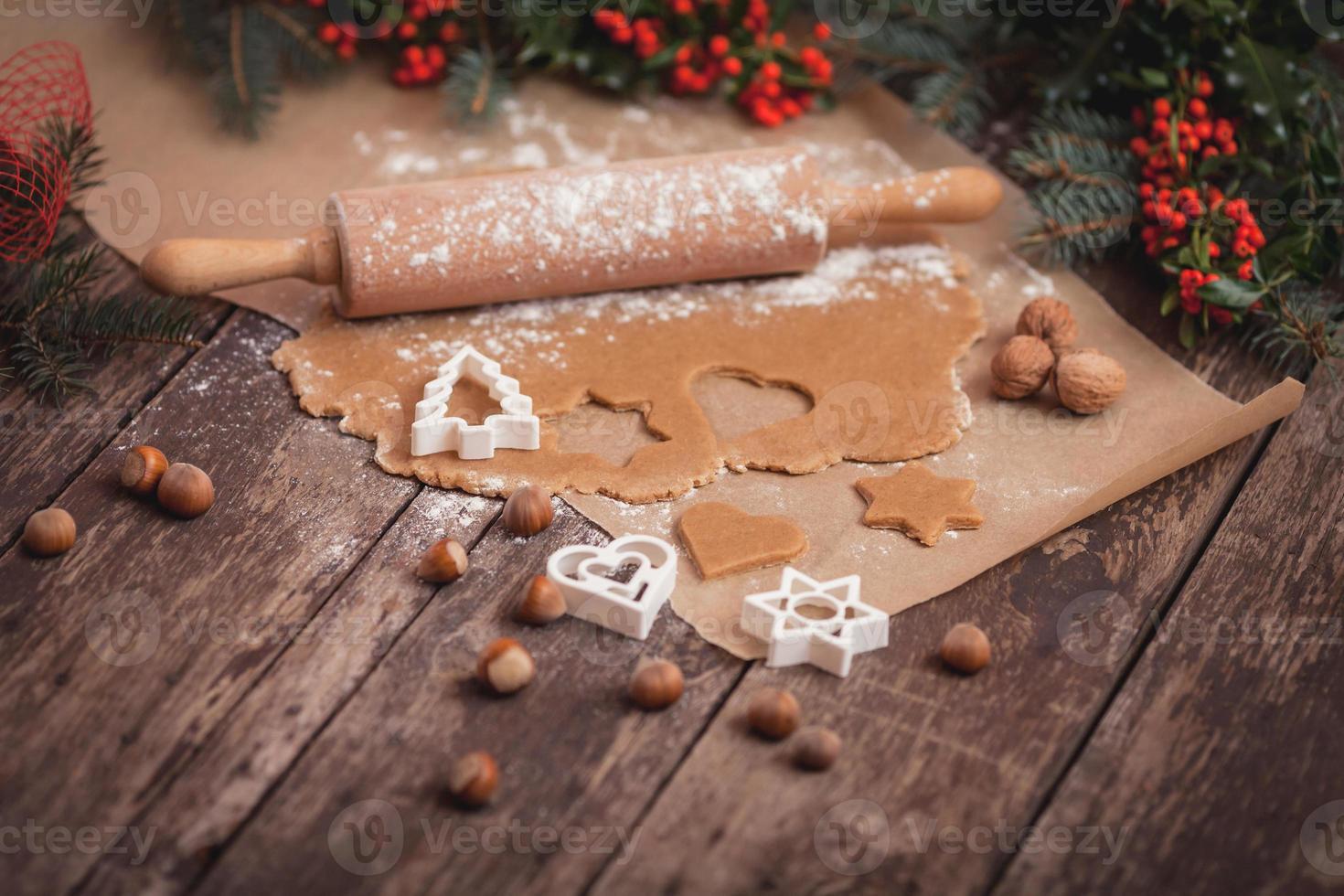 galletas de maní para la noche de invierno foto