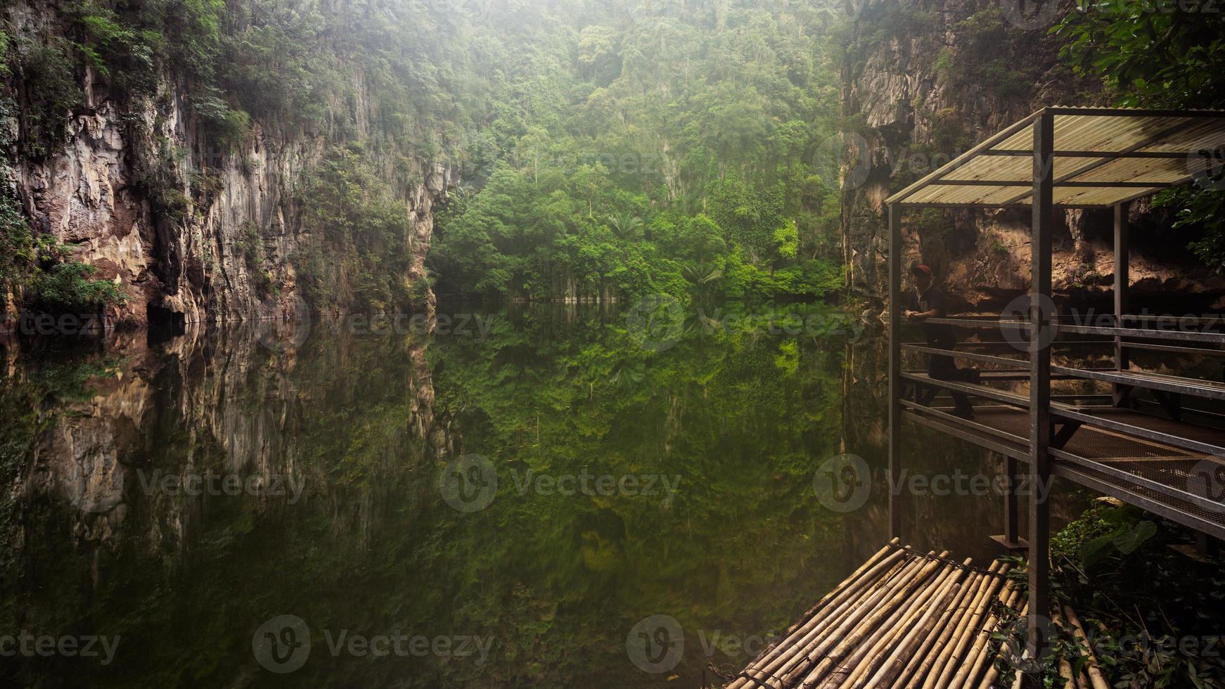 Spiegel Fluss foto