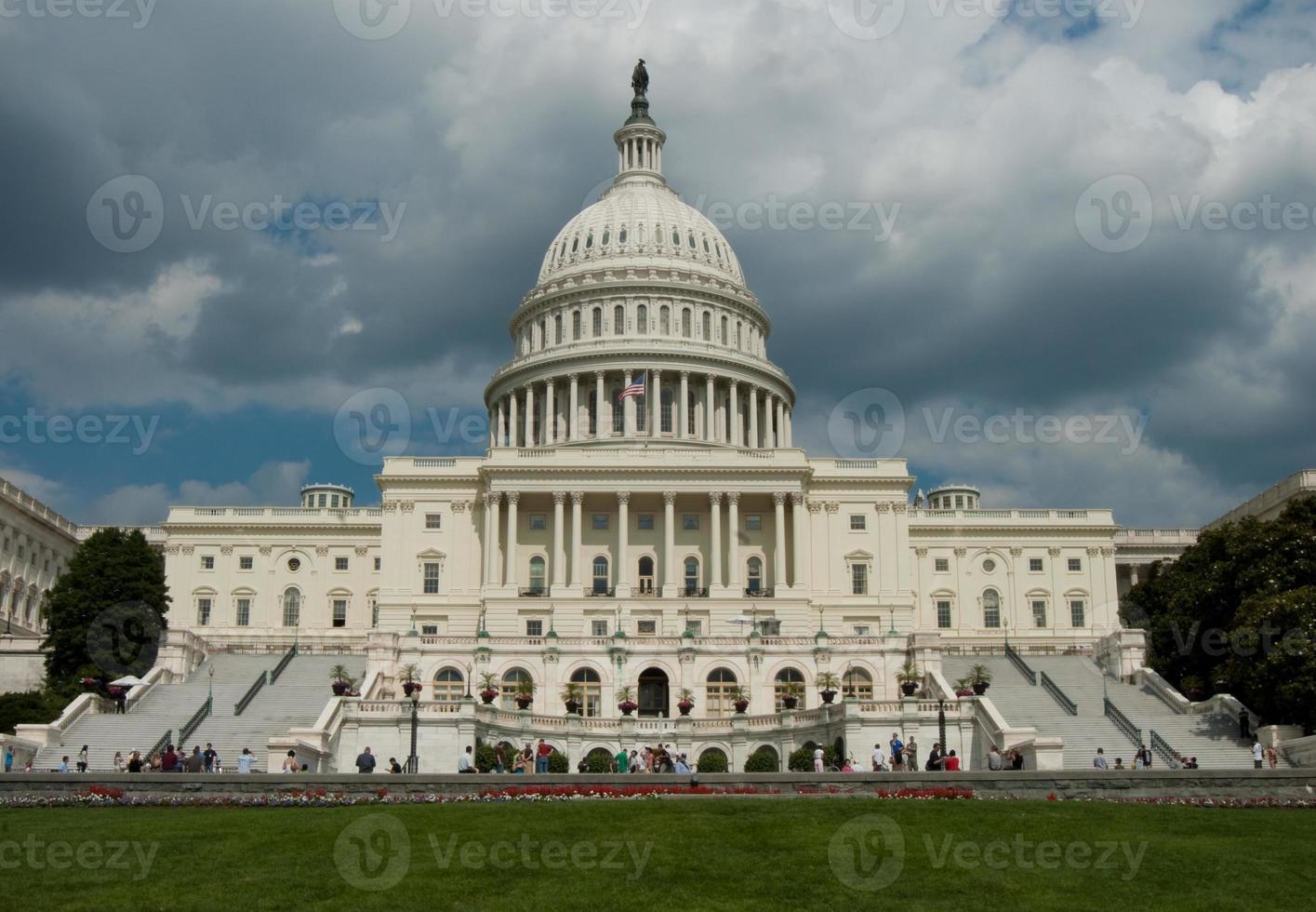 Capitolio de la nación en Washington DC foto