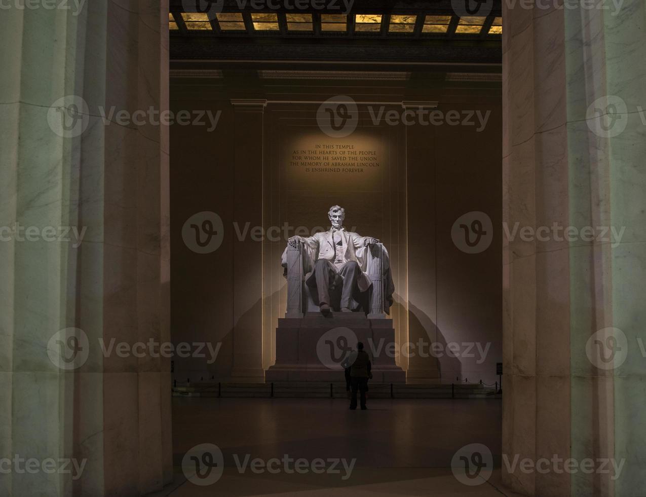 Monumento a Abraham Lincoln foto
