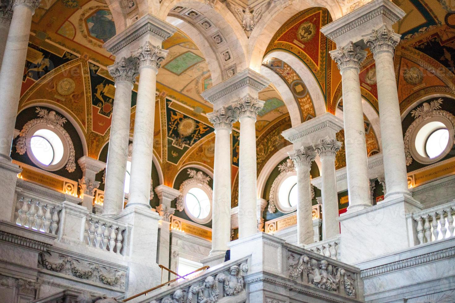 Library of Congress, Entry Hall photo