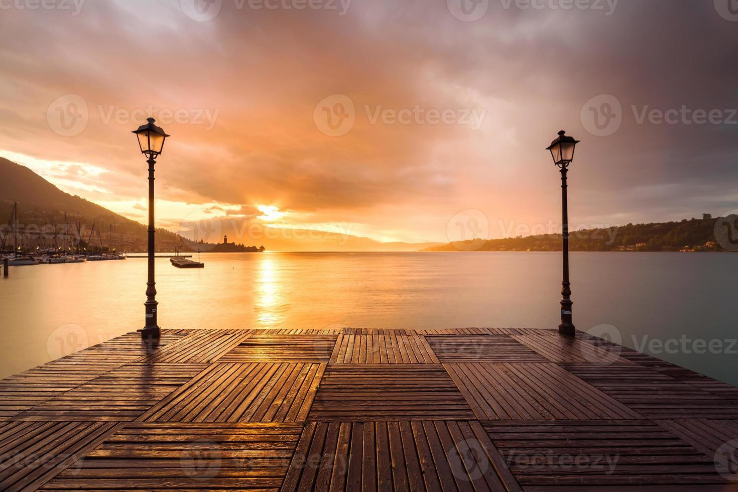 Lago de Garda - Italia foto