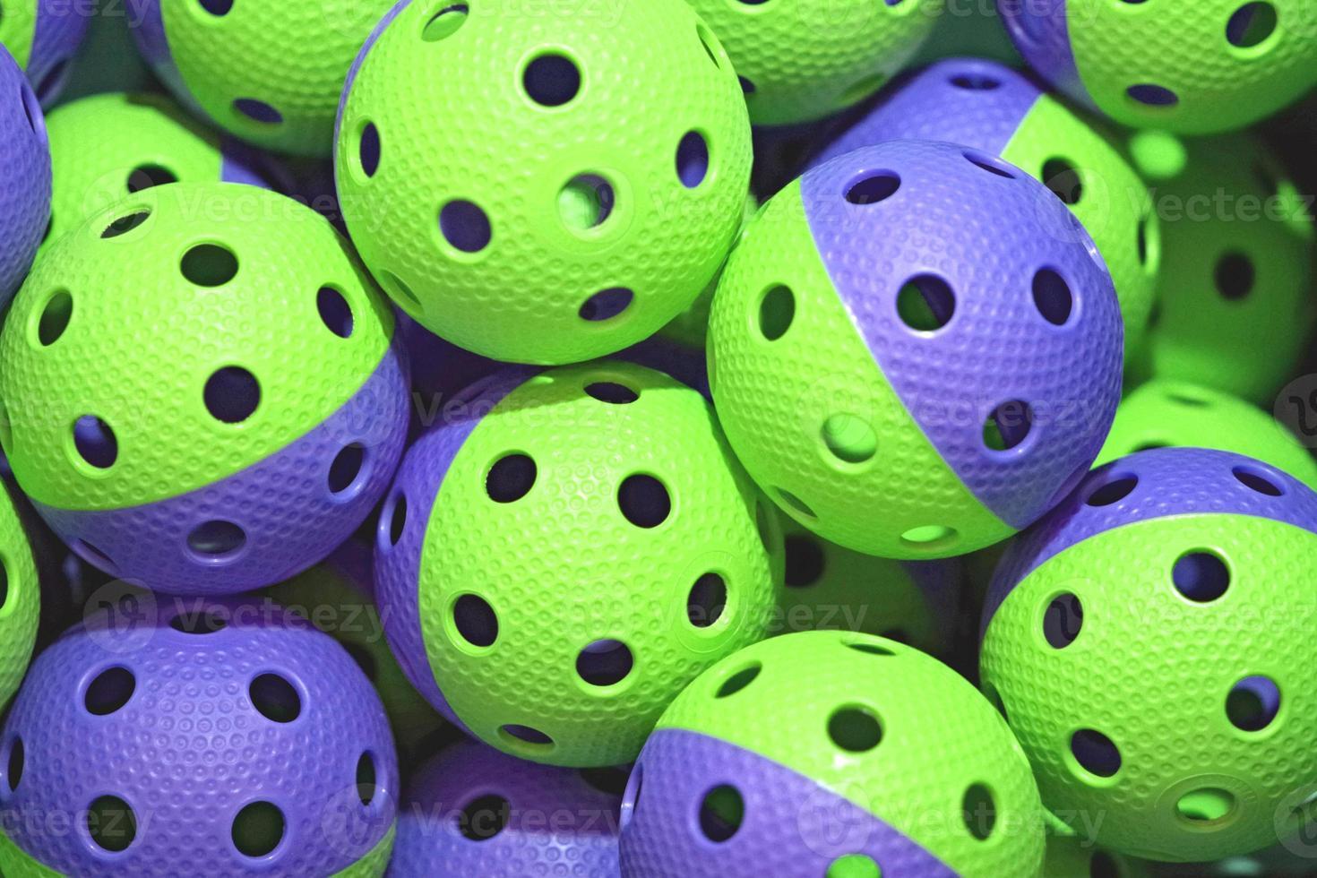 floorball ballen foto