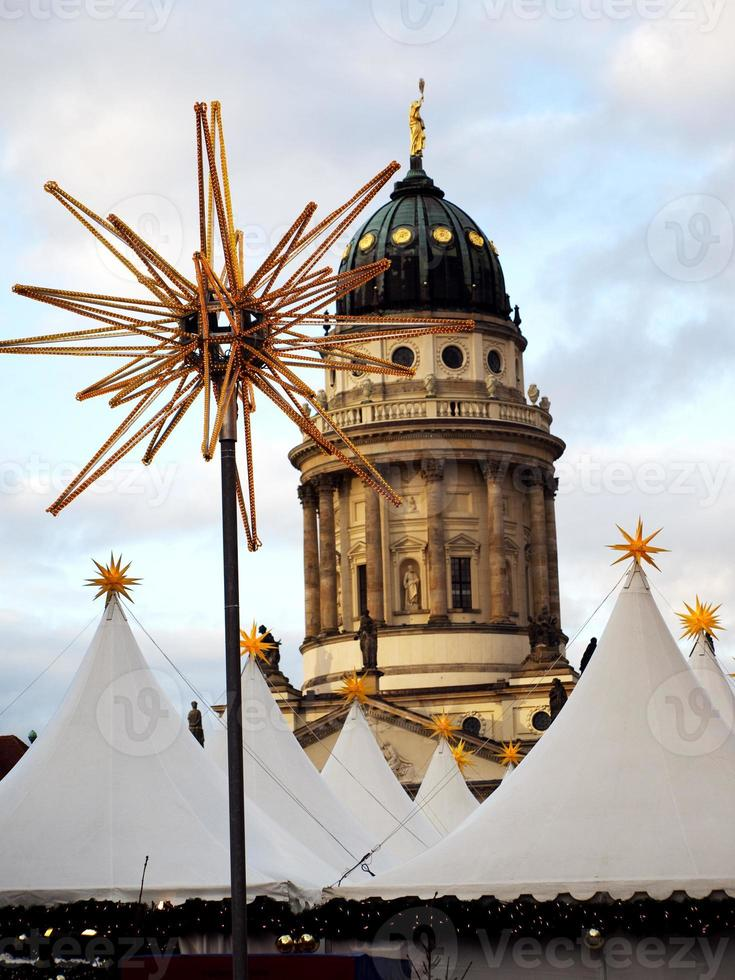 Berlin Christmas market photo